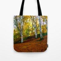 Autumn Trees Woodland Tote Bag