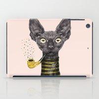 Black Cat iPad Case