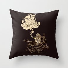 Wow! It's a ship! Throw Pillow
