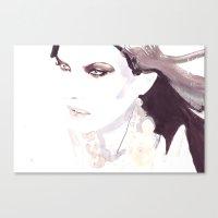 Fashion Illustration In … Canvas Print