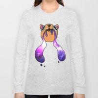 Galaxy Kitty Long Sleeve T-shirt