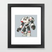 Giant Industrial Robot! Framed Art Print