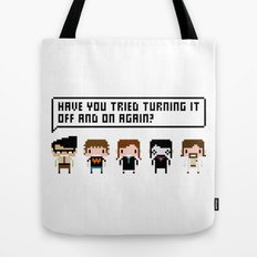 The IT Crowd Characters Tote Bag
