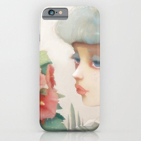 Pensees et roses tremieres iPhone & iPod Case