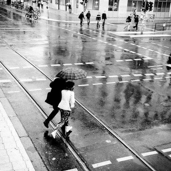 it's raining again Art Print