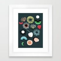 Seaflower Framed Art Print