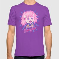 Mewly Outrageous Mens Fitted Tee Ultraviolet SMALL