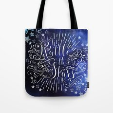 Rattle The Stars - Blue Tote Bag