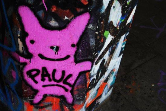 graffi in central London Art Print