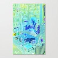 The Alchemist's Hideaway Canvas Print