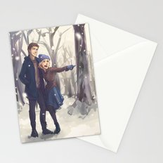 Snowy Day Stationery Cards