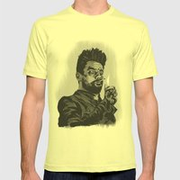 Jesse Custer Preacher Mens Fitted Tee Lemon SMALL