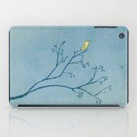 Yellow Bird iPad Case