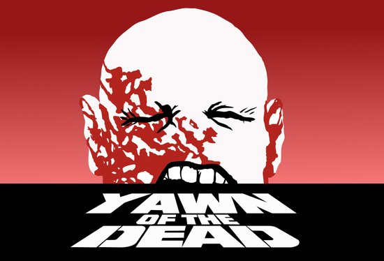 yawn of the dead Art Print