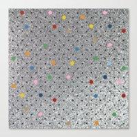 Pin Points Polka Dots Sh… Canvas Print