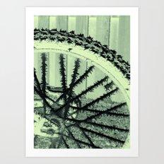 Winter spoke its intentions... Art Print