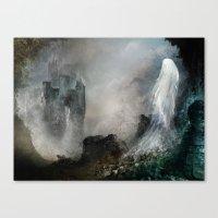 Château Noir Pour Dame … Canvas Print