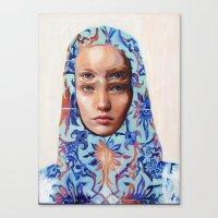 The Secret By Alex Garan… Canvas Print