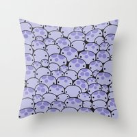 Octo Attack Throw Pillow