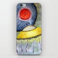 Jelly Moon iPhone & iPod Skin