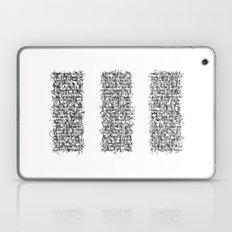 tri white Laptop & iPad Skin