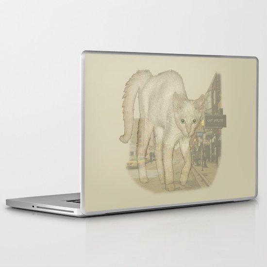 Ghost Kitty Laptop & iPad Skin