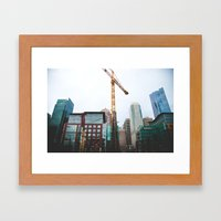 To fix is to create.  Framed Art Print