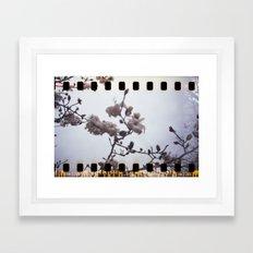 blooming sprockets Framed Art Print