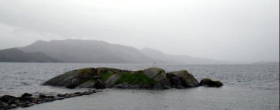 small island near stavanger, norway. Art Print