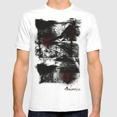 Ransom White SMALL Mens Fitted Tee