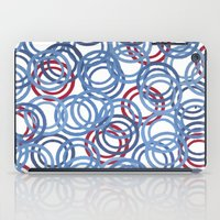 Blue Discs iPad Case