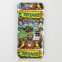 iPhone & iPod Case featuring the Averagers by Gimetzco's Damaged Goods