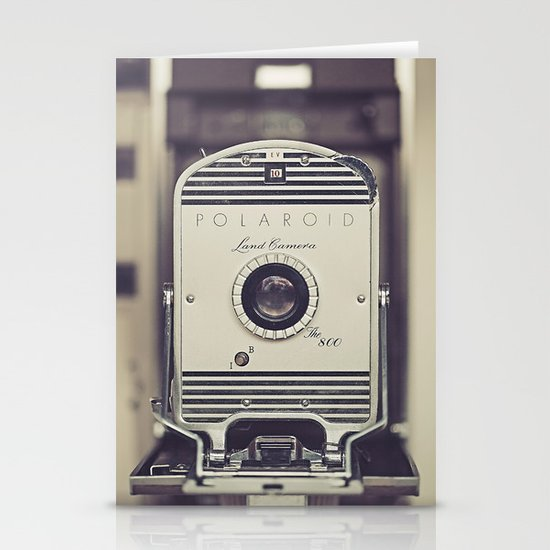 Vintage Polaroid Land Camera The 800 Stationery Card