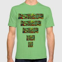 Sun Mens Fitted Tee Grass SMALL