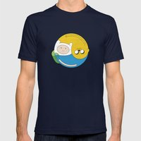 Adventurer Balance Mens Fitted Tee Navy SMALL