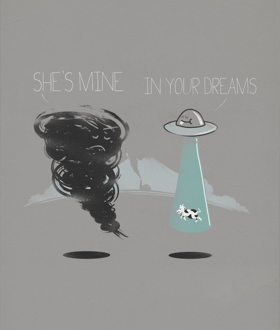 She's mine Canvas Print