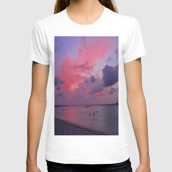 Swimming Towards Sundown T-shirt