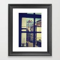 Voyeur (I Spy) Framed Art Print