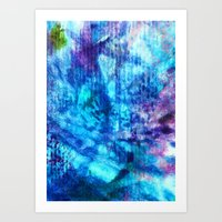 Going With The Flow Art Print