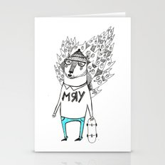 Мяу кот Stationery Cards