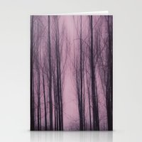 Woods Red Stationery Cards