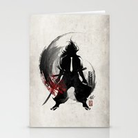 Corporate Samurai Stationery Cards