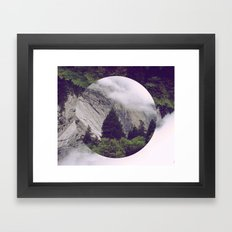 Forest in the Clouds Framed Art Print
