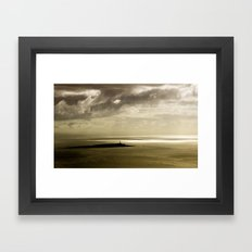 Dusk at Pladda Island Framed Art Print