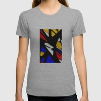 Speed Womens Fitted Tee Athletic Grey SMALL
