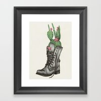Shoe Bouquet II Framed Art Print