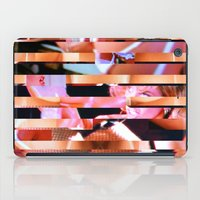 Dinner Party Glitch 1 iPad Case