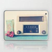 Retro Radio Laptop & iPad Skin