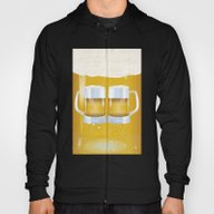 Illustration Of Beer Gla… Hoody
