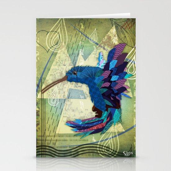Hummingbird Stationery Card